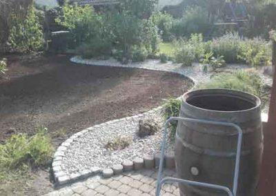 Garteneinfassung
